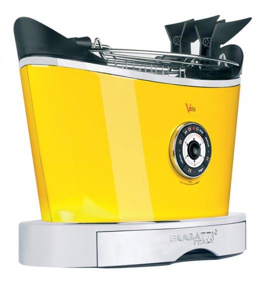 BUGATTI Toster VOLO żółty. Wysoka jakość - Italy design