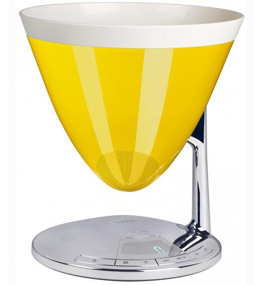 BUGATTI UMA elektroniczna waga -żółty. Wysoka jakość - Italy design