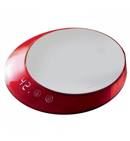 BUGATTI GLAMOUR Waga elektroniczna obciążenie do 5 kg - dotykowy wyświetlacz CZERWONY