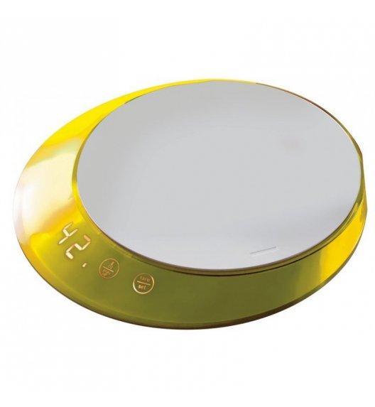BUGATTI GLAMOUR Waga elektroniczna obciążenie do 5 kg - dotykowy wyświetlacz ŻÓŁTY
