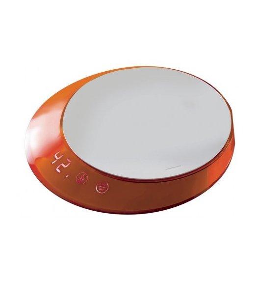 BUGATTI GLAMOUR Waga elektroniczna obciążenie do 5 kg - dotykowy wyświetlacz POMARAŃCZOWY