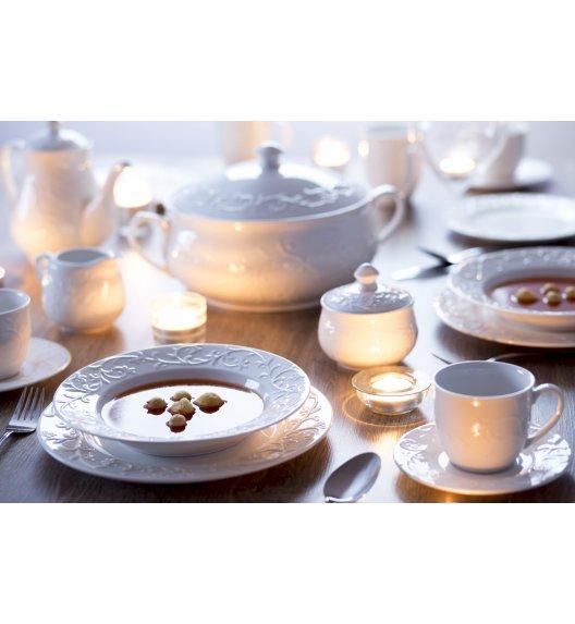 DUO HEMINGWAY Komplet obiadowo-kawowy 66 el / 12 osób/ porcelana