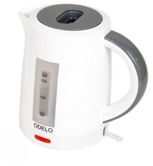 ODELO Czajnik elektryczny - Bezprzewodowy 1,7 L szary OD1126