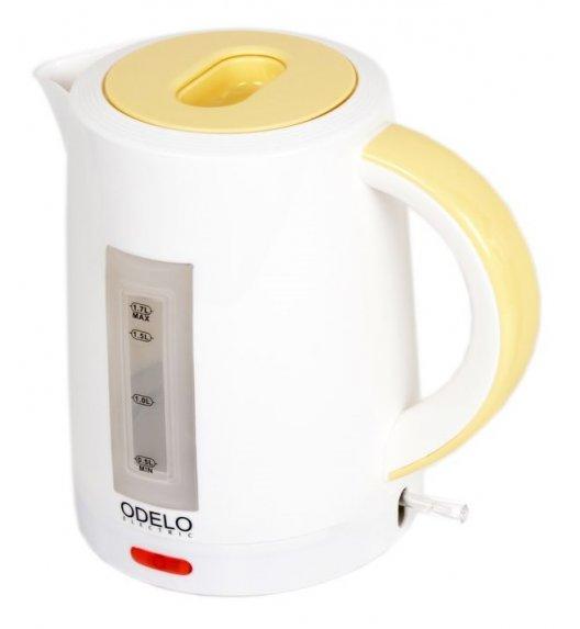 ODELO Czajnik elektryczny - Bezprzewodowy 1,7 L żółty OD1126