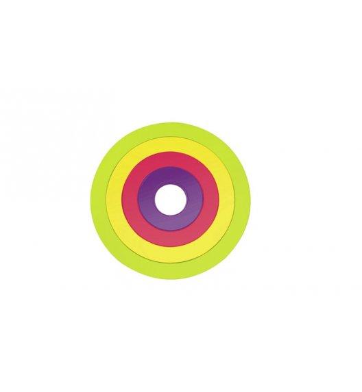 ZAK! DESIGNS Okrągłe podstawki pod naczynia, wielokolorowe /Btrzy