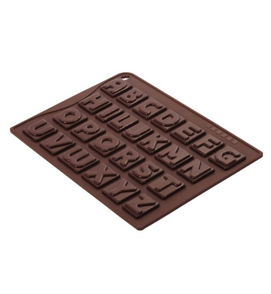 PAVONIDEA forma na czekoladowe pralinki, 26 wzorów, literki /Btrzy