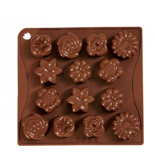 PAVONIDEA BOUQUET forma na czekoladowe pralinki, 14 wzorów /Btrzy