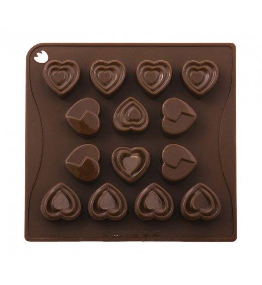 PAVONIDEA LOVE forma na czekoladowe pralinki, 14 wzorów /Btrzy