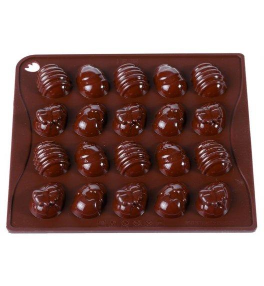 PAVONIDEA OVETTE forma na czekoladowe pralinki, 20 czekoladek /Btrzy