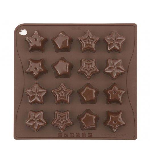 PAVONIDEA STARS forma na czekoladowe pralinki, 16 czekoladek /Btrzy