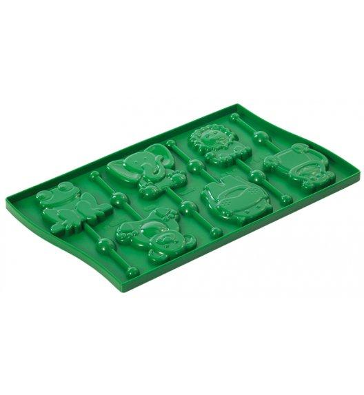 PAVONIDEA CUPCAKES forma do lizaków zwierzaczki, zielona /Btrzy