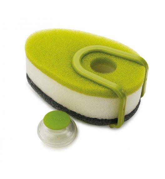 Joseph Joseph, Zestaw gąbek do mycia naczyń z dozownikiem, zielony / Btrzy