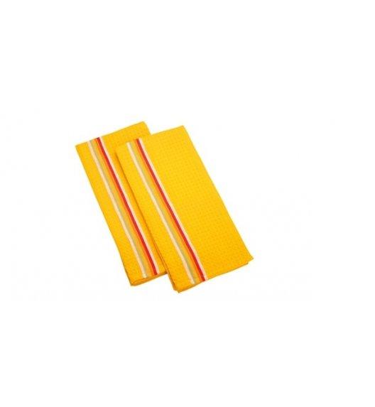 Tescoma PrestoTone, Komplet 2 x ścierka kuchenna 100% Bawełna 70 x 50 cm żółte
