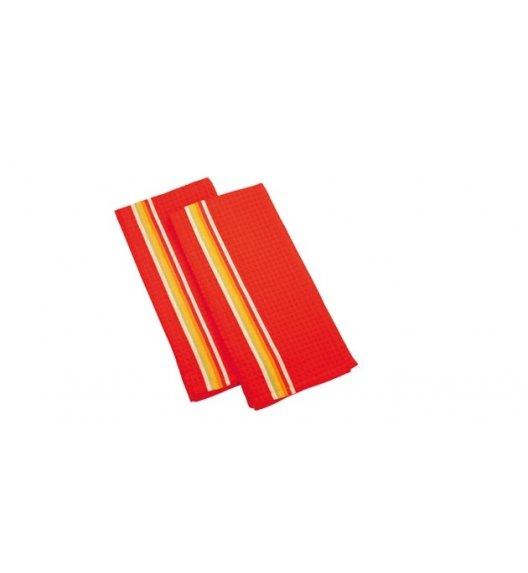 Tescoma PrestoTone, Komplet 2 x ścierka kuchenna 100% Bawełna 70 x 50 cm, czerwony