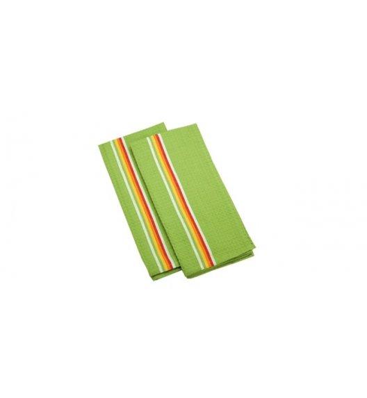Tescoma PrestoTone, Komplet 2 x ścierka kuchenna 100% Bawełna 70 x 50 cm, zielony