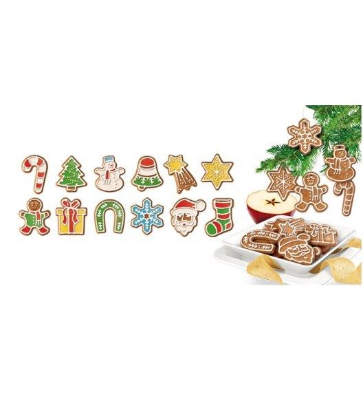 Tescoma Delicia, Foremki do wykrawania, ozdoby bożonarodzeniowe, 12 szt