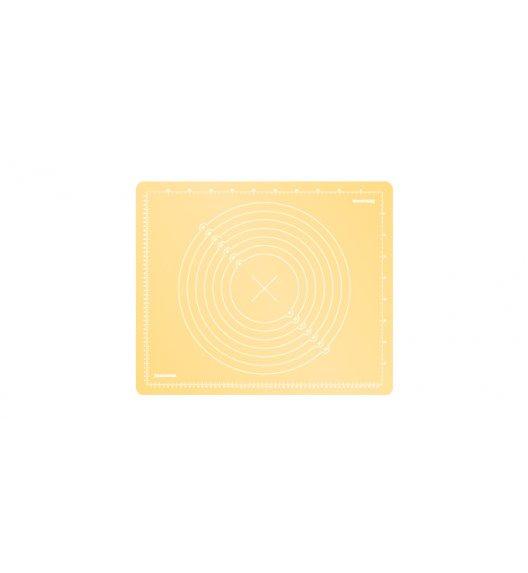 Stolnica silikonowa Tescoma Delicia Deco 55x45 cm żółta, 632880.12