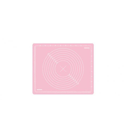 Stolnica silikonowa Tescoma Delicia Deco 55x45 cm różowa, 632880.19