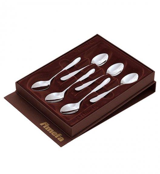 WYPRZEDAŻ! Komplet łyżeczek do kawy Amefa Oxford 1860 (połysk) 6 szt w pudełku brązowym.