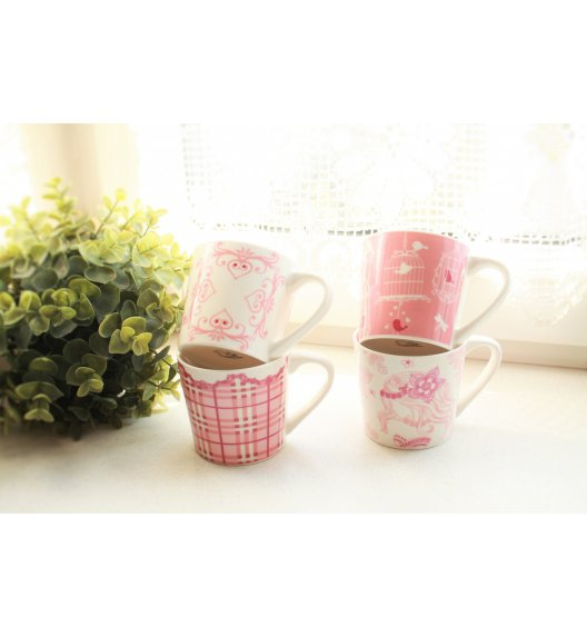 DUO SKANDYNAWIA 188-2 Komplet 4 kubków 190 ml - Ceramika