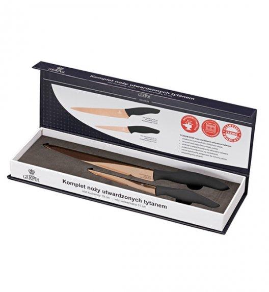 Noże kuchenne Gerpol TITANIUM - 2 noże kuchenne TYTANOWE