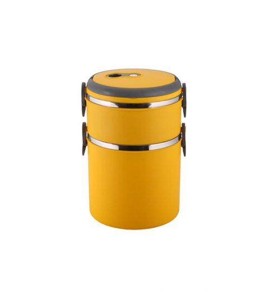 TADAR Pojemnik obiadowy 2-warstwowy Pasto 2,7 L żółty
