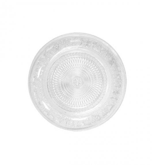 TADAR Talerz deserowy szklany 19 cm niepowtarzalny design