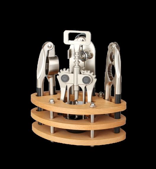 TADAR BIS Komplet narzędzi kuchennych na stojaku 5 elementów