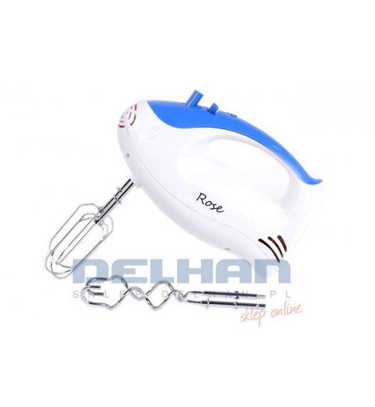ODELO ROSE Mikser ręczny, robot kuchenny 100W 5 prędkości + turbo Niebieski, RO1004BLUE