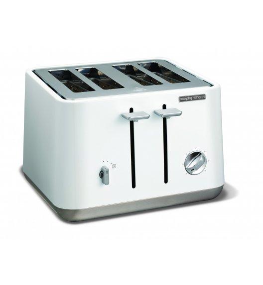 MORPHY RICHARDS Toster ASPECT pojemność na 4 tosty, biały.