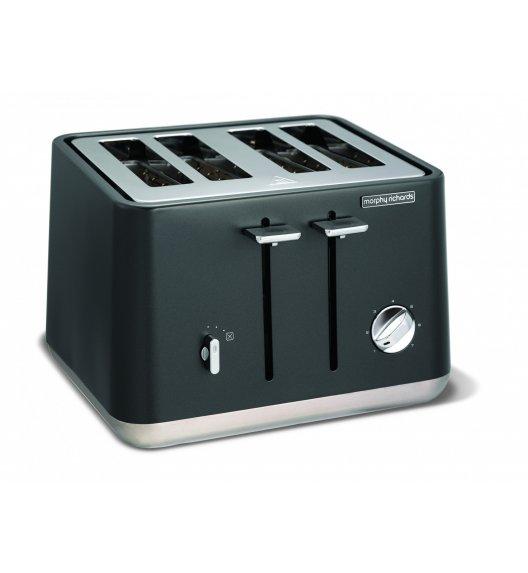 MORPHY RICHARDS Toster ASPECT pojemność na 4 tosty, tytanowy.