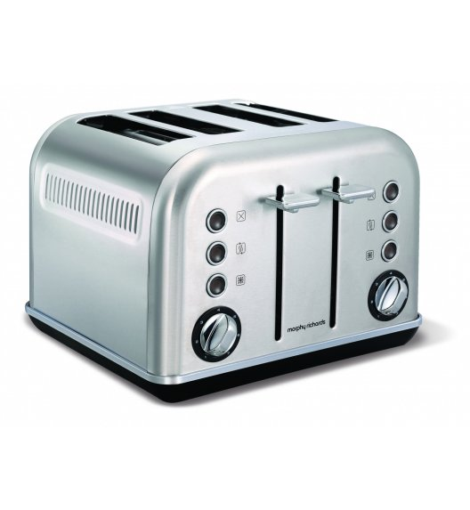 MORPHY RICHARDS Toster Accents srebrny na 4 tosty o mocy 1880W