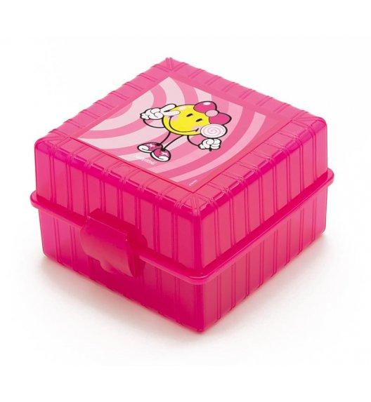 ZAK! DESIGNS Smiley Kid Lunch Box dla dziewczynki, różowy / Btrzy