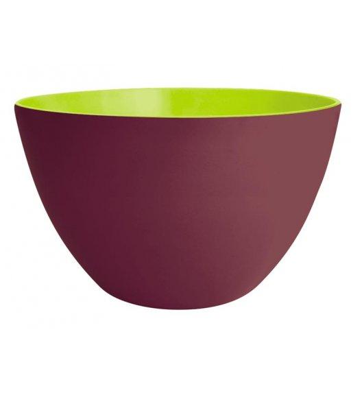 ZAK! DESIGNS Dwukolorowa miska kasztanowo-zielona, 28 cm / Btrzy