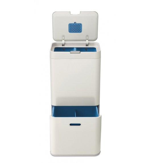 JOSEPH JOSEPH Kosz do segregacji 58 l z filtrem pochłaniającym zapachy TOTEM beżowy / Btrzy