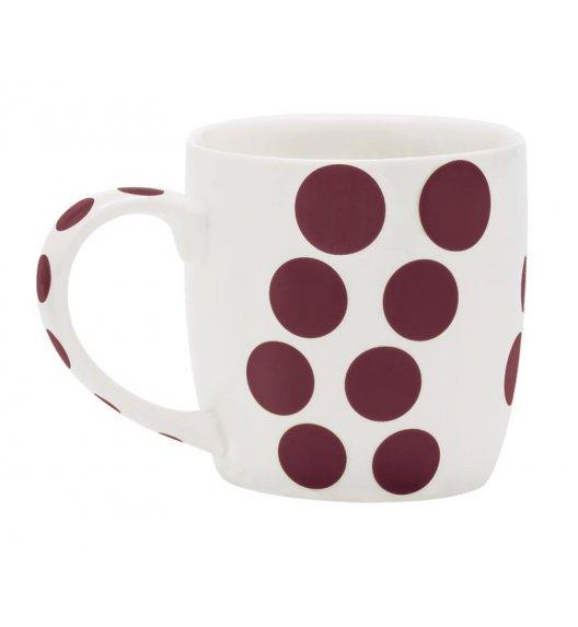 ZAK! DESIGNS Porcelanowy kubek DOT, kropki brązowe 0,35 L / Btrzy