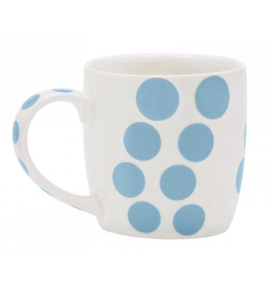 ZAK! DESIGNS Porcelanowy kubek DOT, kropki niebieskie 0,35 L / Btrzy