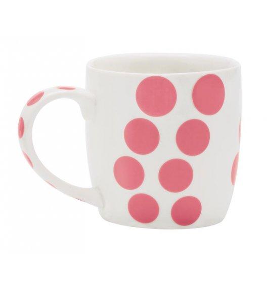 ZAK! DESIGNS Porcelanowy kubek DOT, kropki różowe 0,35 L / Btrzy