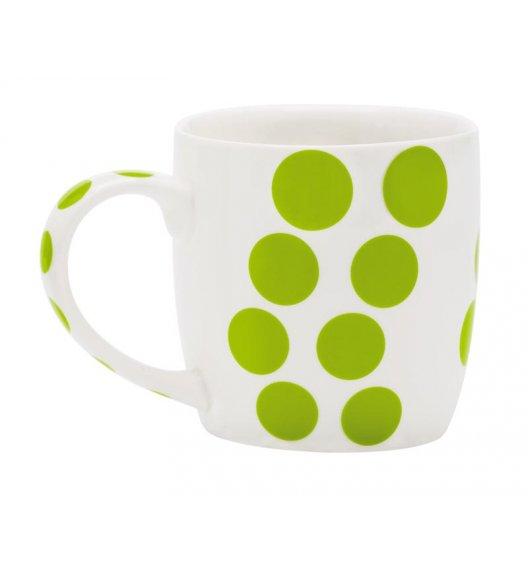 ZAK! DESIGNS Porcelanowy kubek DOT, kropki zielone 0,35 L / Btrzy