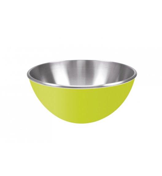ZAK! DESIGNS Dwukolorowa miska stalowa, zielona, 25 cm / Btrzy