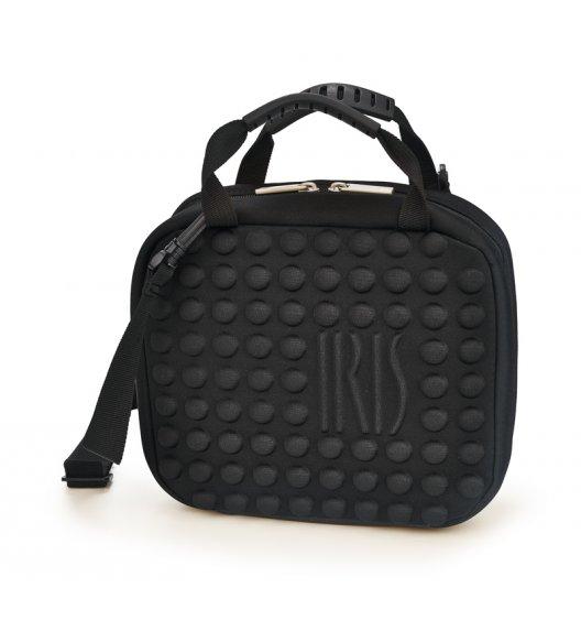 WYPRZEDAŻ! Praktyczna torba mini na lunch Twin Bag Iris z pojemnikami w kolorze czarnym / Btrzy