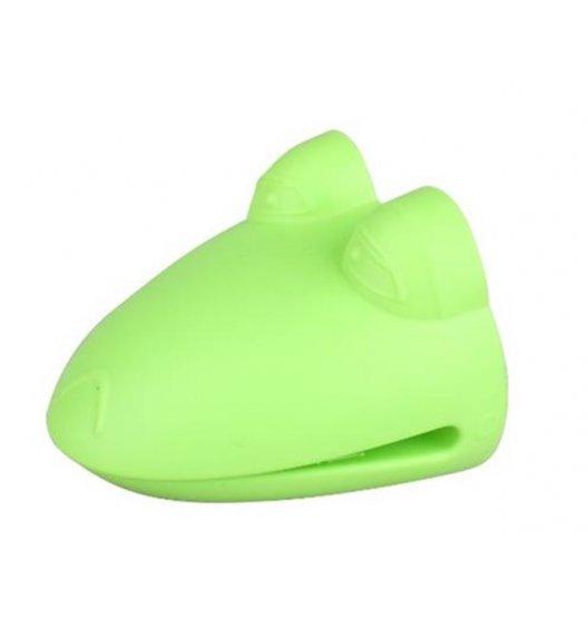 WYPRZEDAŻ! TADAR Silikonowa łapka kuchenna, zielona żaba.