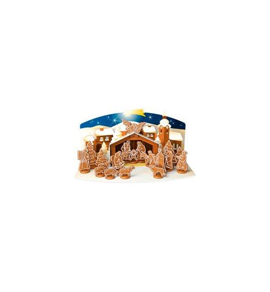 WYPRZEDAŻ! Foremki do wykrawania ciasteczek x 19 szt + szopka Boże Narodzenie Tescoma Delicia - świąteczna dekoracja.