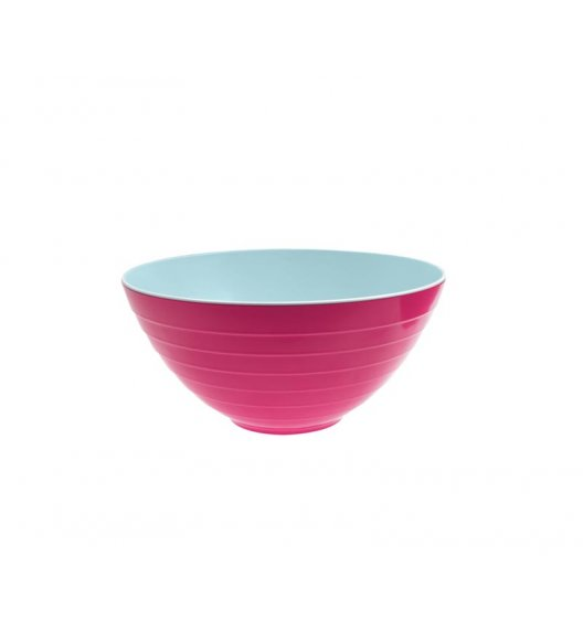 WYPRZEDAŻ! ZAK! DESIGNS Miska dwukolorowa, niebiesko-różowa, 25 cm /Btrzy