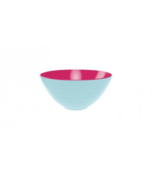 WYPRZEDAŻ! ZAK! DESIGNS Miska dwukolorowa, niebiesko-różowy, 28 cm /Btrzy