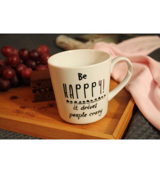 DUO VARIUS Kubek Be Happy 450 ml Porcelana