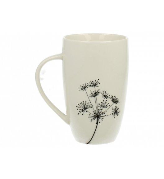 DUO FINO Kubek Dmuchawce 250 ml Biała porcelana