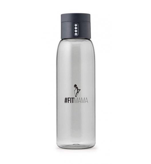 HPBA Anna Lewandowska Butelka na wodę 600 ml #Fitmama DOT Grafitowa / Btrzy