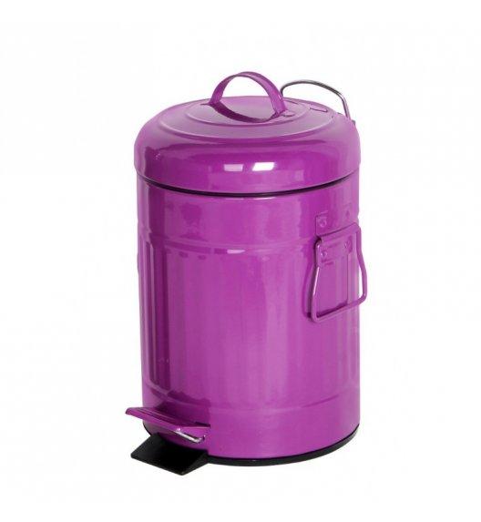 TADAR Kosz na śmieci DESIGN 5 L / fioletowy