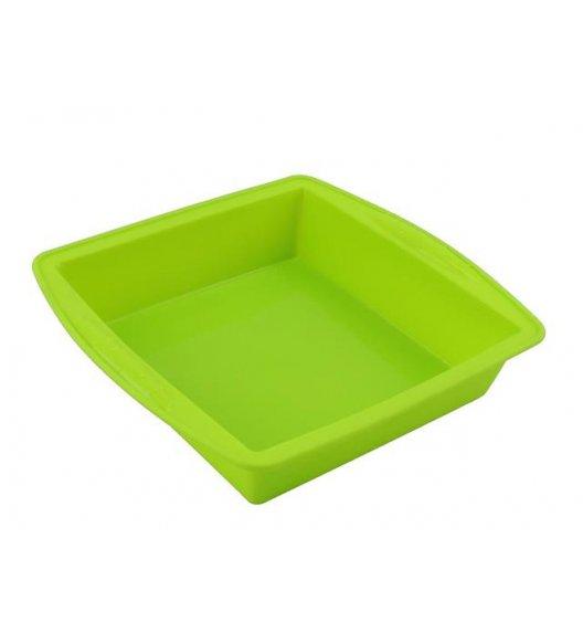 TADAR Kwadratowa forma do pieczenia ciast / silikonowa, zielona